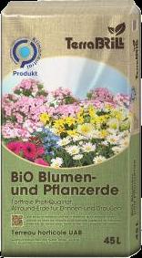Klimaneutrale BIO Blumen- und Pflanzenerde